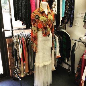 Lace & mesh tube Skirt dress. Multi style runs big